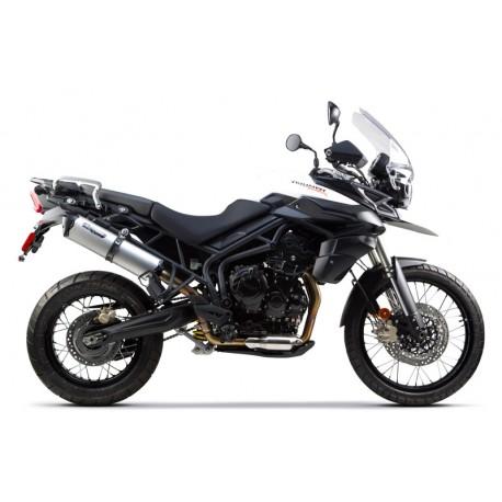 EXHAUST M2 TITANIUM OPTION BLACK SERIES TRIUMPH TIGER800