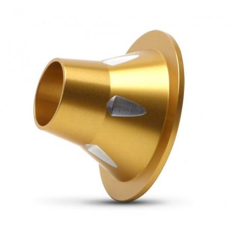 M7 P4 MX/ATV Gold Race Pipe PowerTip -5 to 6 dB