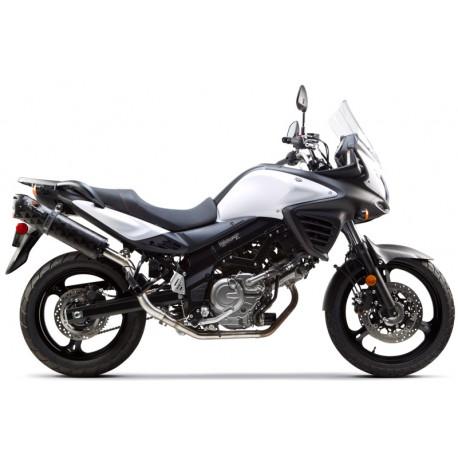 EXHAUST M2 CARBONE OPTION BLACK SERIES SUZUKI VSTROMDL650