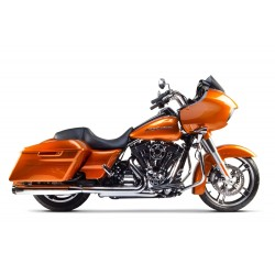 DUAL EXHAUST EMBOUT CARBONE HARLEY DAVIDSON TOURING