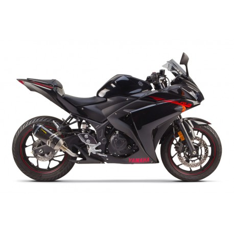 EXHAUST S1R CARBONE YAMAHA R3