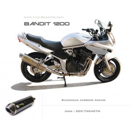 SILENCIEUX CARBONE TWO BROS SUZUKI BANDIT 1200 / S