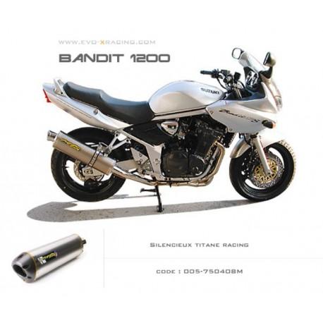 SILENCIEUX TITANE TWO BROS SUZUKI BANDIT 1200 / S