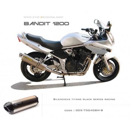 SILENCIEUX TITANE BLACK SERIES TWO BROS SUZUKI BANDIT 1200 / S