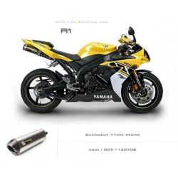 Double échappement M2 en titane Yamaha R1