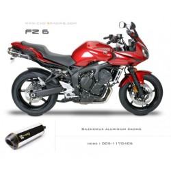 Double échappement M2 en aluminium Yamaha fz6
