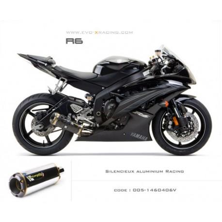 Echappement M2 en aluminium Yamaha R6