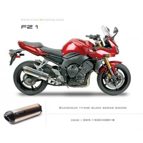 Echappement M2 en titane option black séries Yamaha FZ1
