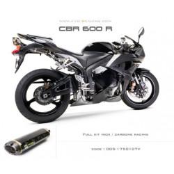 Ligne complète échappement M2 en carbone Honda CBR600