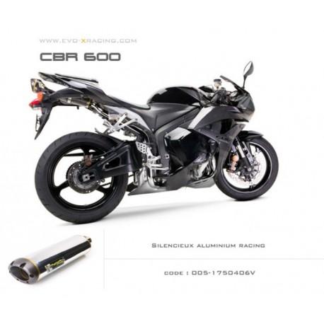 Echappement M2 en aluminium Honda CBR600
