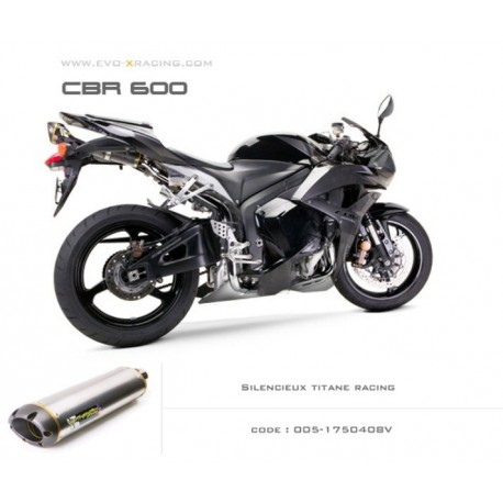 Echappement M2 en titane Honda CBR600