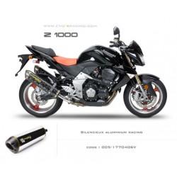 Double échappement M2 en aluminium Kawasaki Z1000
