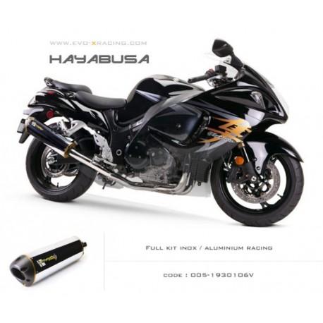 Ligne complète échappement M2 en aluminium Suzuki Hayabusa
