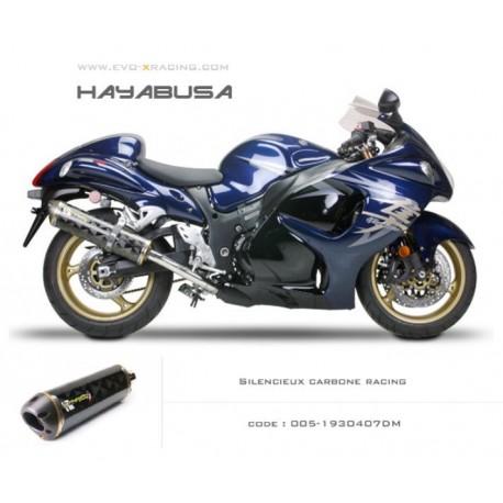 Echappement M2 en carbone Suzuki Hayabusa