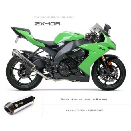 Echappement Two Bros M2 titane Kawasaki ZX 10 R