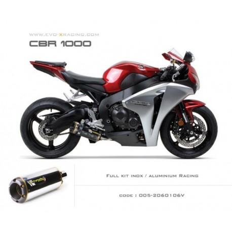 Ligne complète échappement M2 en aluminium Honda CBR1000