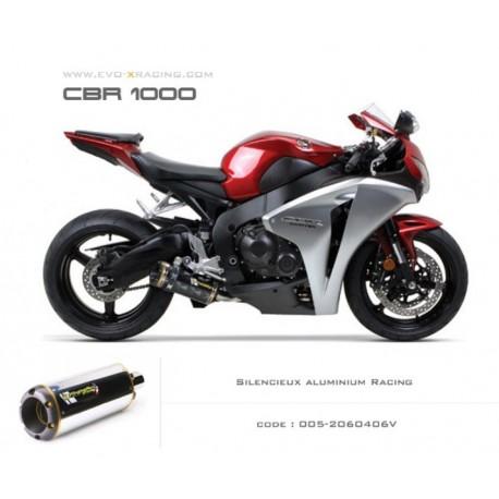 Echappement M2 en aluminium Honda CBR1000