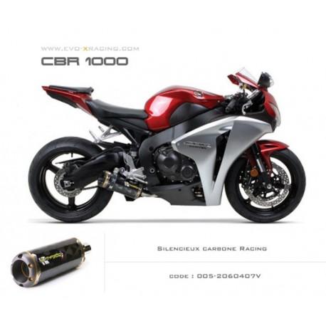 Ligne complète échappement M2 en carbone Honda CBR1000