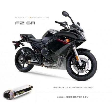 Ligne complète échappement M2 en aluminium Yamaha fz6